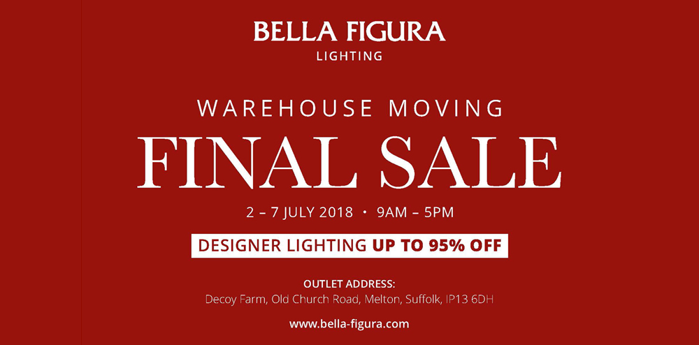 WAREHOUSE MOVING FINAL SALE: SAVE THE DATE