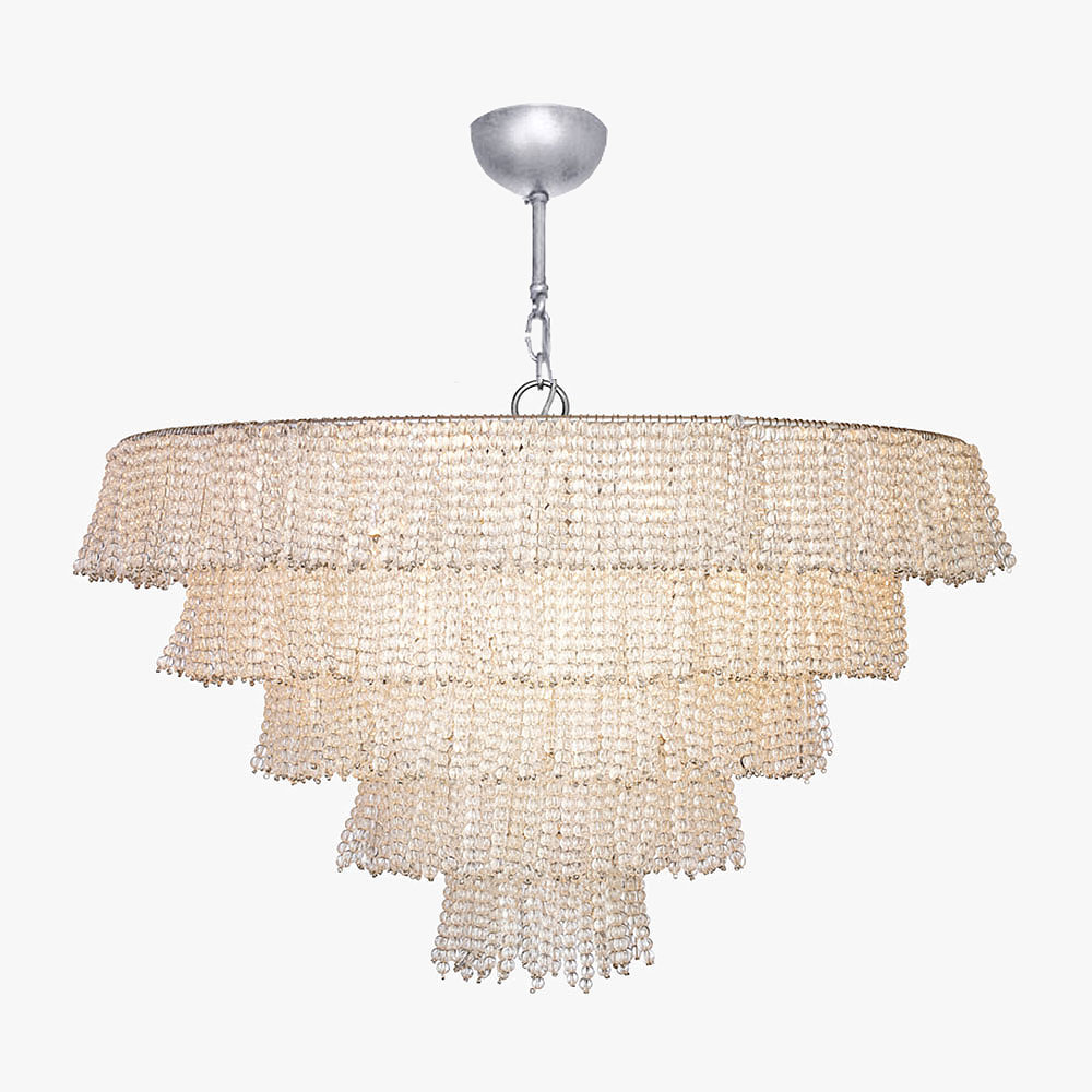 Pearl Tiered Chandelier