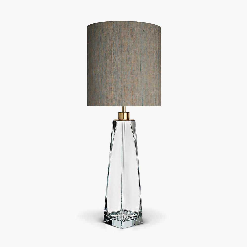 Diamond Square Obelisk Lamp