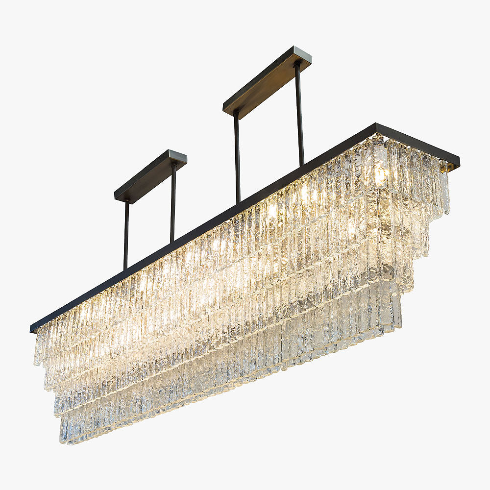 Villanova 2 Rectangular Chandelier