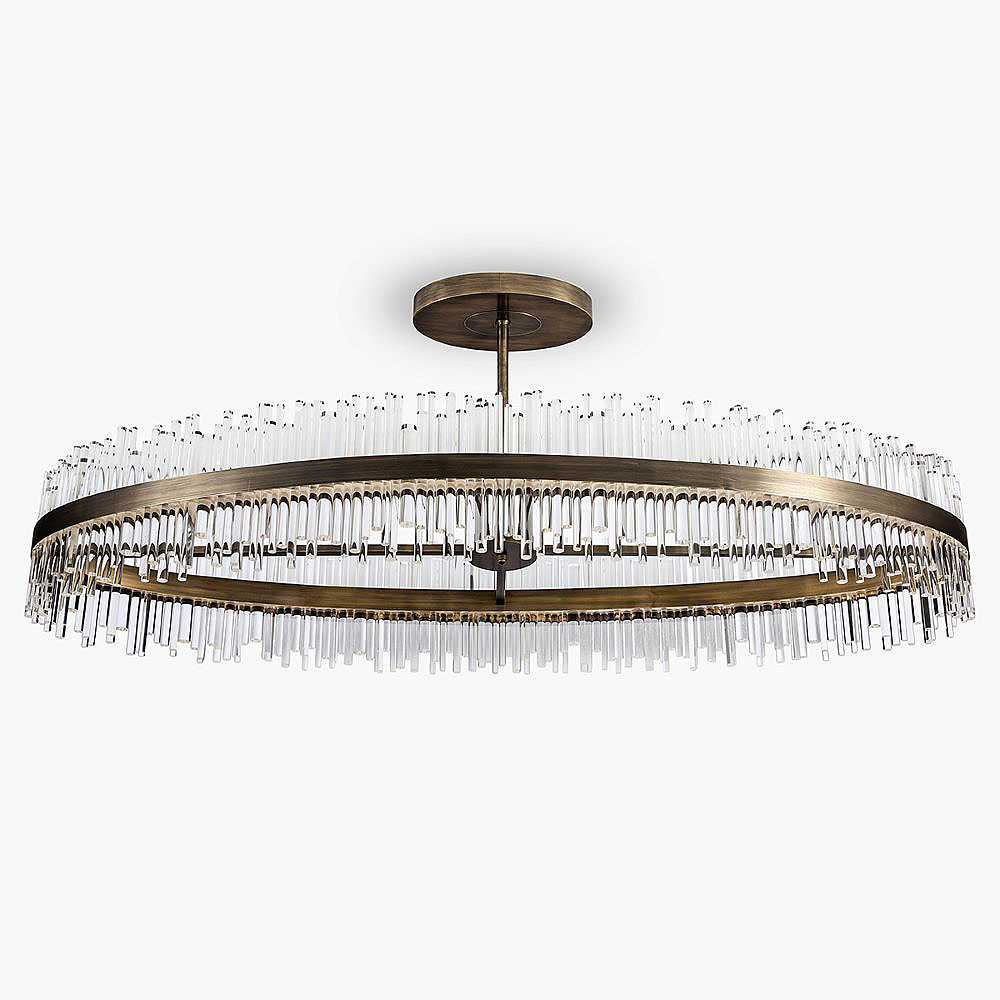 Bond Street Oval Chandelier