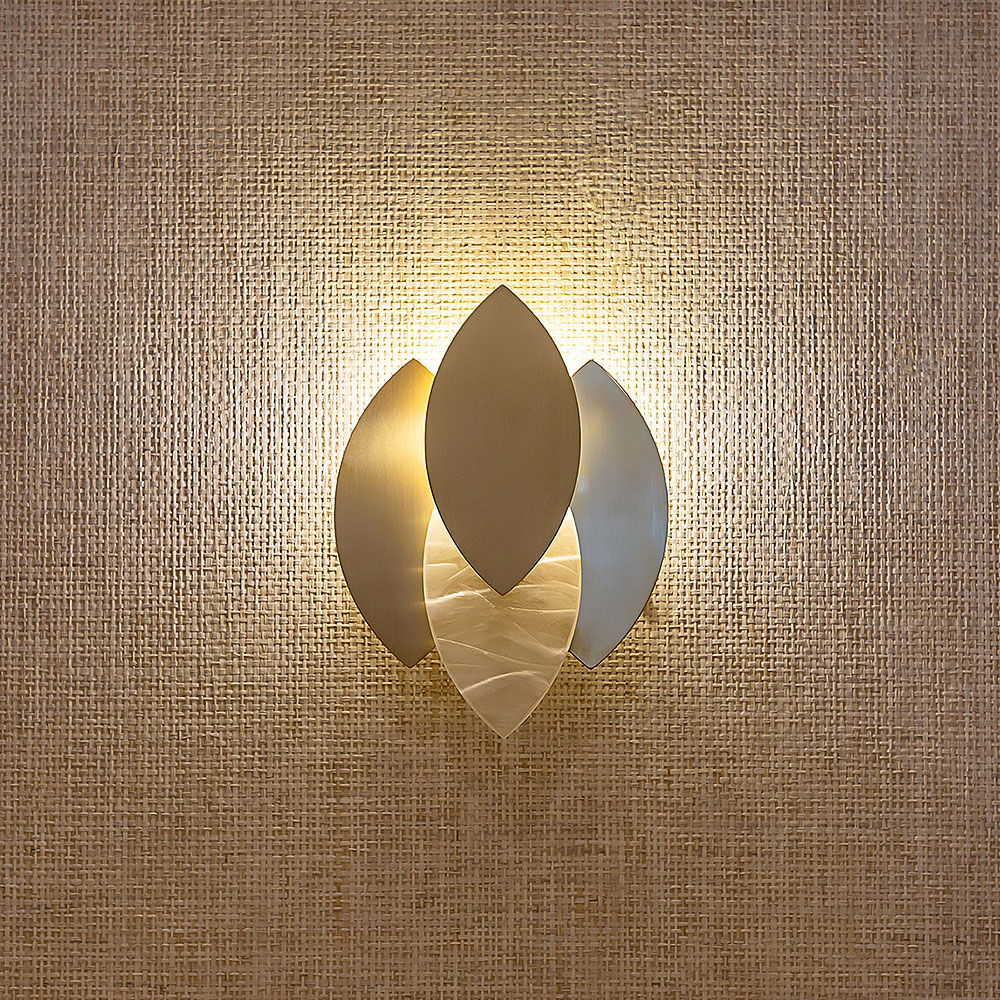 Lotus Wall Light