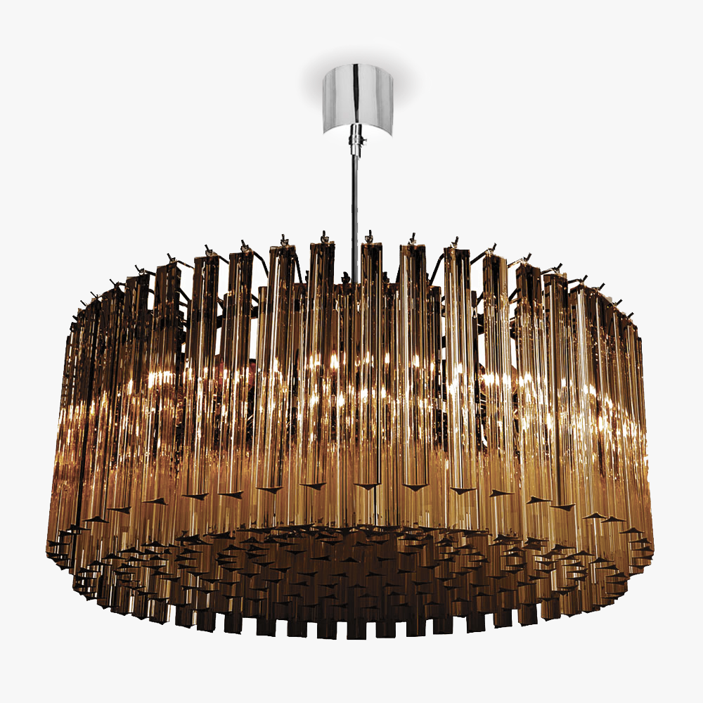 Concave Drum Chandelier Ceiling Lights Bella Figura The World S Most Beautiful Lighting