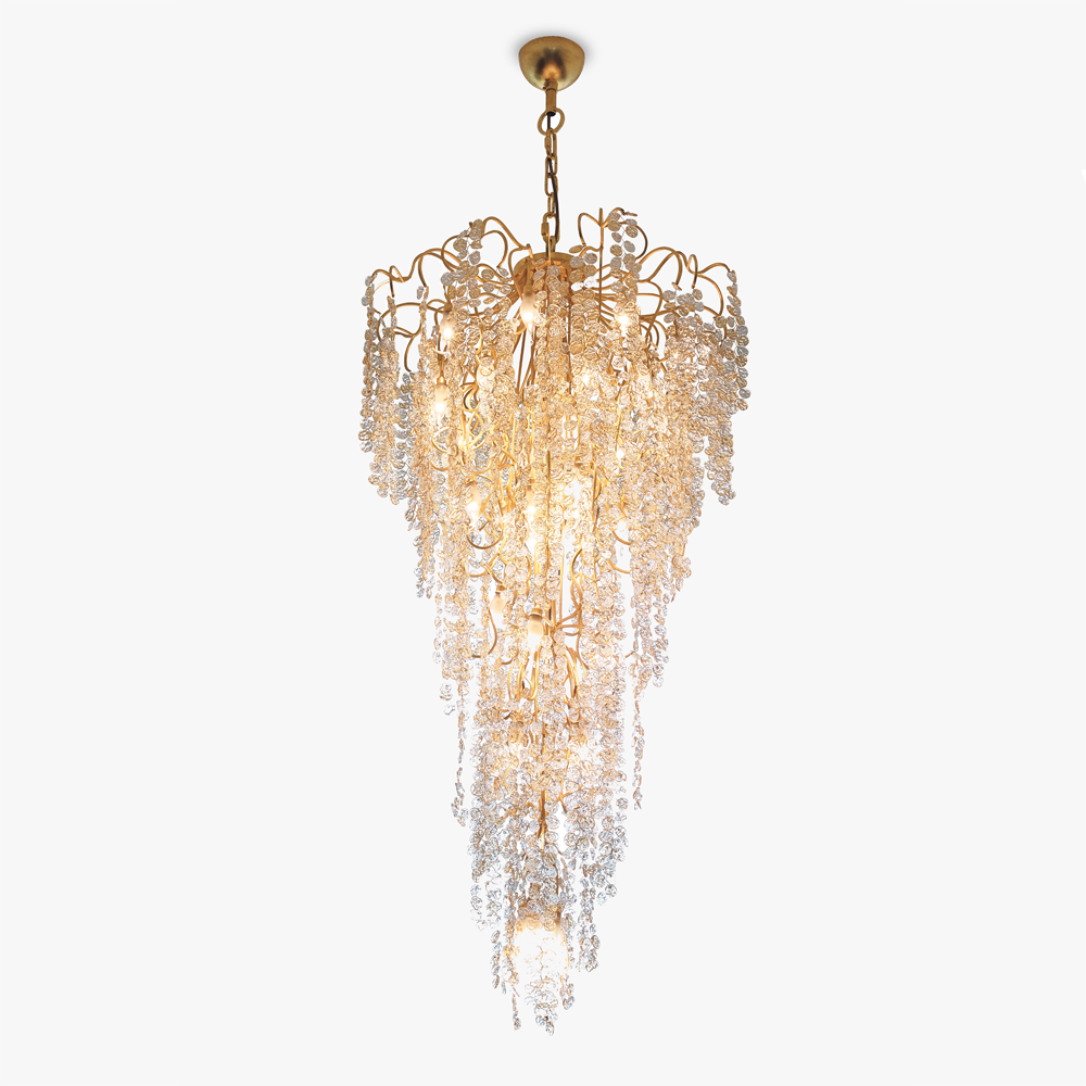 Tesoro Tall Chandelier