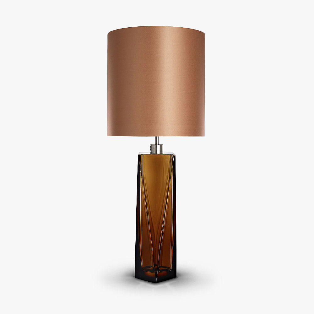 Diamond asymmetrical lamp table lamps bella figura for Bella figura lamps