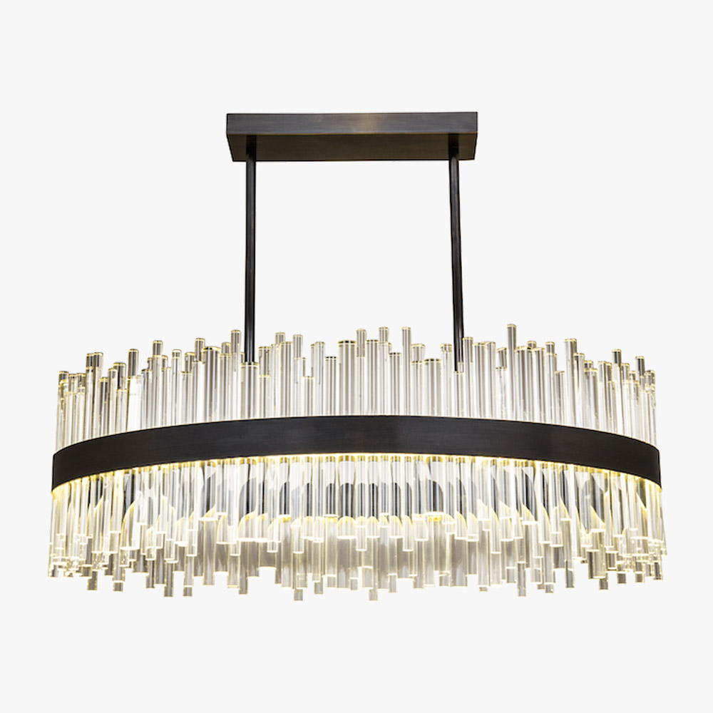 company oval lotus grand currey p chandelier