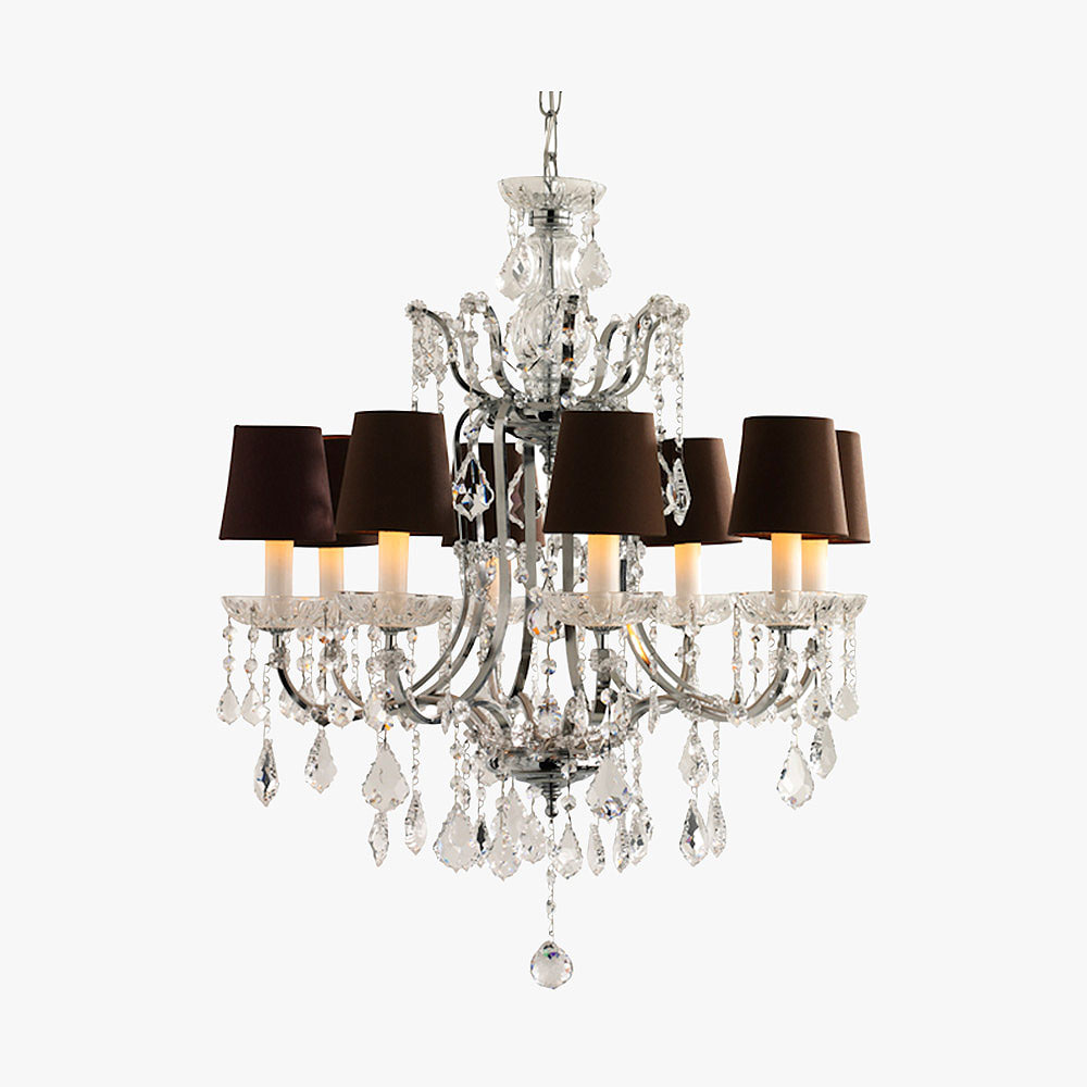 Crystal chandelier with cut crystal cups ceiling lights bella crystal chandelier with cut crystal cups arubaitofo Choice Image