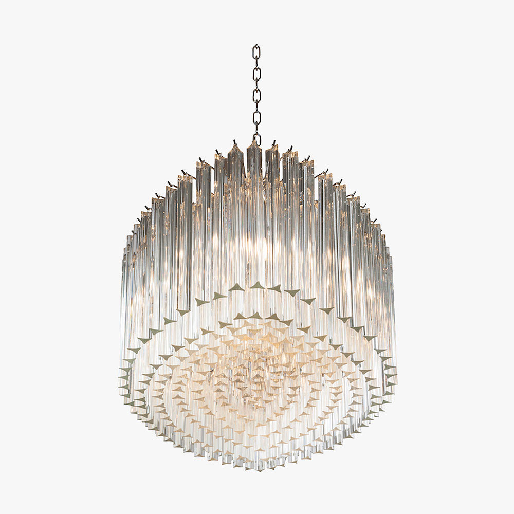 Oval Drum Chandelier Ceiling Lights Bella Figura The