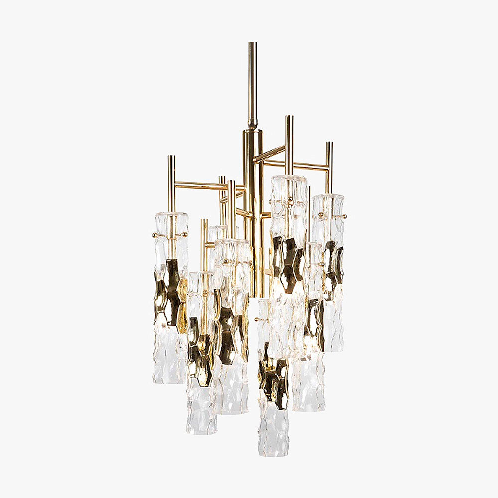 Ceiling lights bella figura bamboo chandelier aloadofball Choice Image