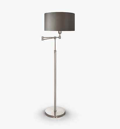 Rendlesham Swing Arm Floor Lamp