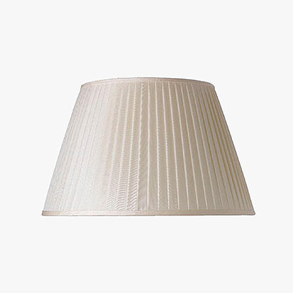 Pleated Silk Lamp Shades
