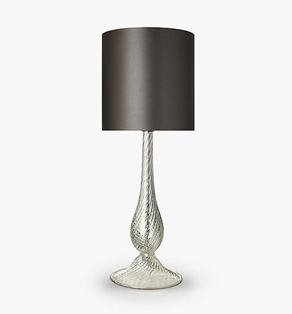 Twist Teardrop Lamp