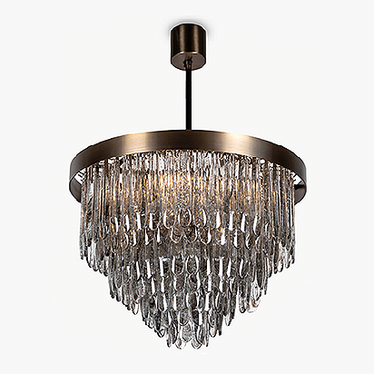 Droplet Chandelier