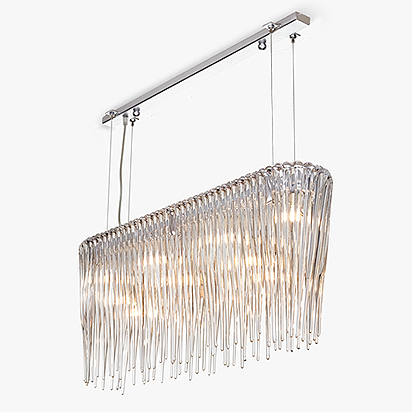 Icicle Rectangular Suspension Light