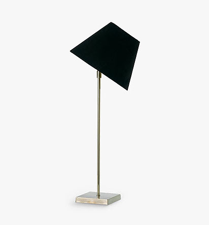 Tilt Lamp with Square Base