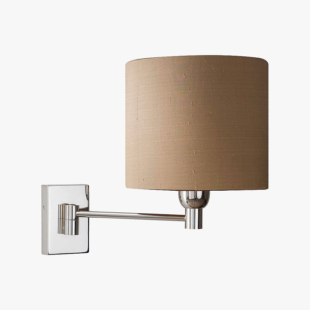Wall Lights Adjustable : Single Swing Arm Adjustable Wall Lights Bella Figura The World s Most Beautiful Lighting